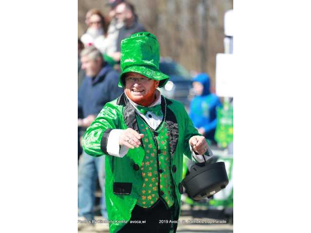 Irish eyes were smiling during St. Patrick's Day parade