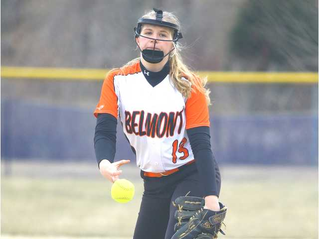 #3 Belmont wins 1–0 pitcher's duel with Black Hawk