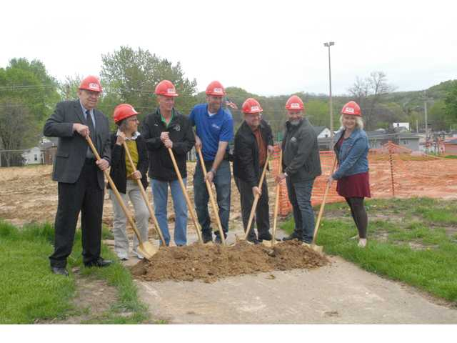 Ground broken for new aquatic center