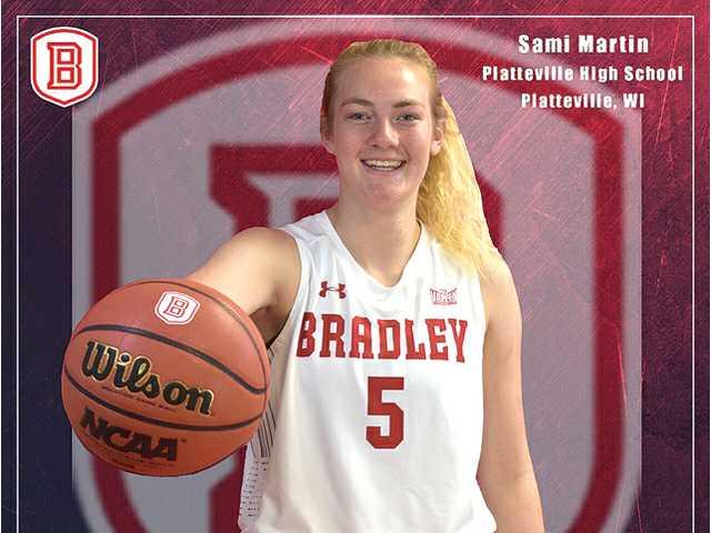 Platteville's Sami Martin makes her college choice