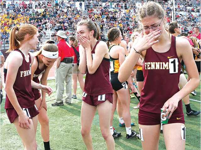 Fennimore girls 4x400 relay wins state title, smashes school record