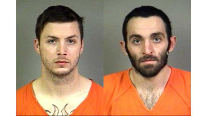 Two apprehended after robbery