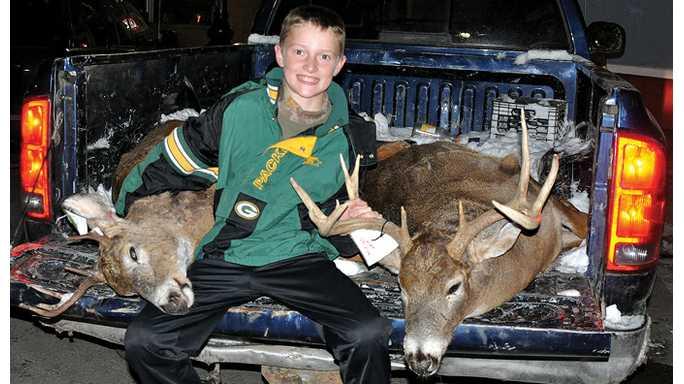 Deer hunt numbers up