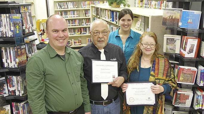 Library is partnership between Potosi & Lancaster