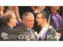 River Ridge Valedictorian Austin Morrow