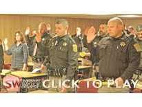 Grant Co. Deputy Swearing-in - Jan. 16, 2019