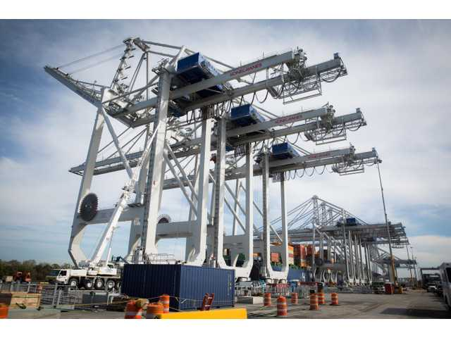 The Georgia Ports Authority has commissioned the first of four new Neo-Panamax ship-to-shore cranes at the Garden City Terminal, bringing its fleet to 23 – more cranes than any other U.S. terminal.