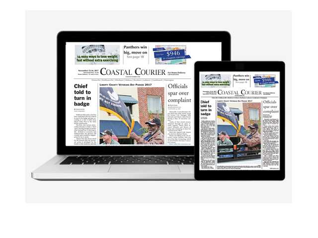 Read the paper anywhere, anytime on your tablet or desktop!  Call 912.876.0156 for digital or print subscriptions