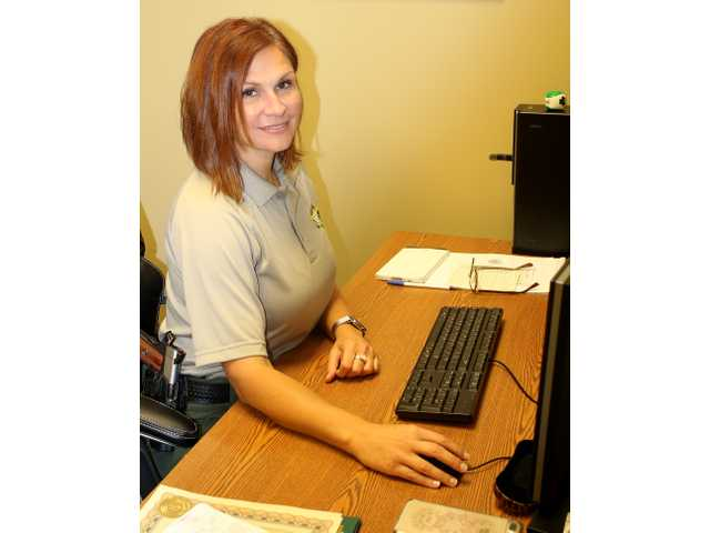 Deputy Gena Bilbo has been on the job for one month.