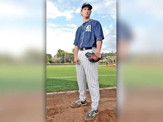 TMC's Jason Karkenny has the look of an ace