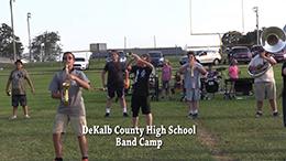 VIDEO - DeKalb High Band Camp