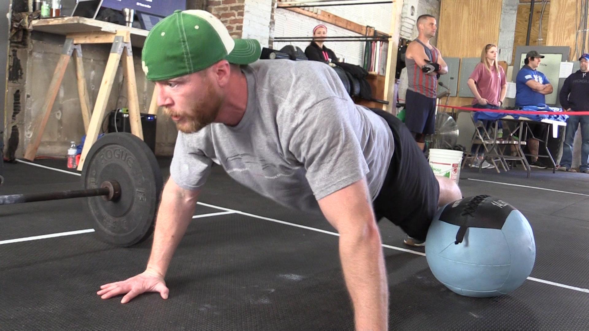 VIDEO - CrossFit to prevent veteran suicide