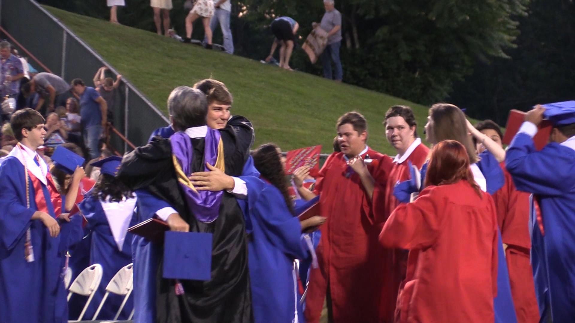 VIDEO - Warren County High School graduation 2017