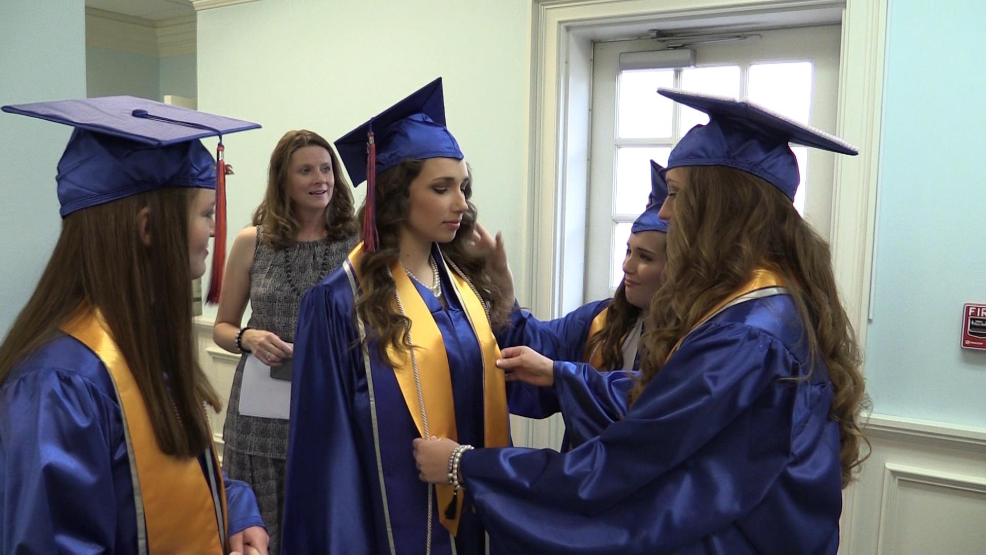 VIDEO - Boyd Christian School graduation