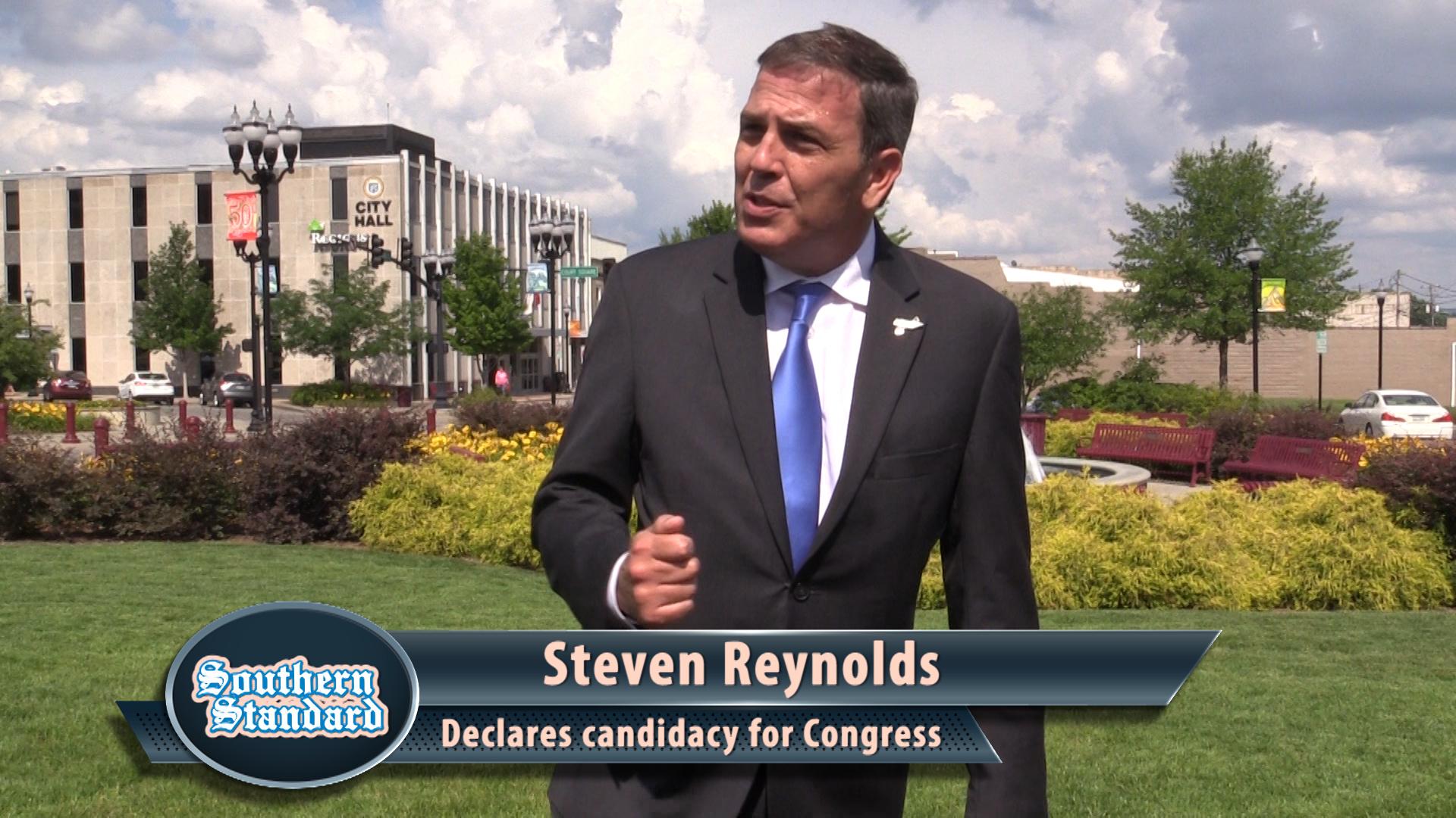 Steven Reynolds declares for Congress