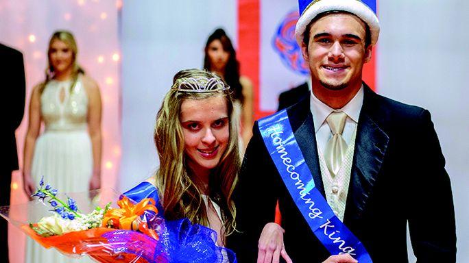 Jacob Dodd photos Queen and King Gabby VanWormer and Jayden Reno